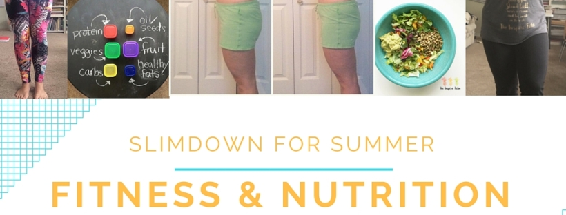 summer slim down fitness nutrition challenge with the new tracker