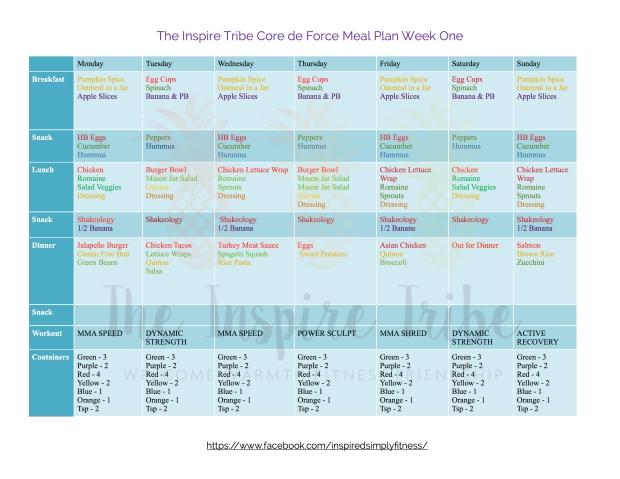 inspire-tribe-core-de-force-meal-plan-week-one-copy